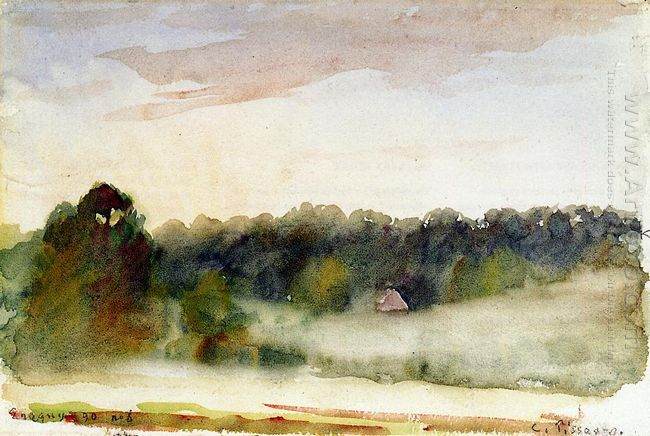 eragny landscape 1890