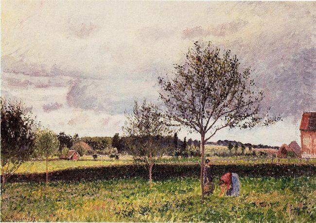 eragny landscape le pre 1897