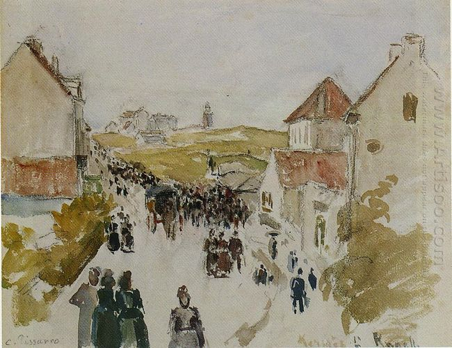 feast day in knokke 1891