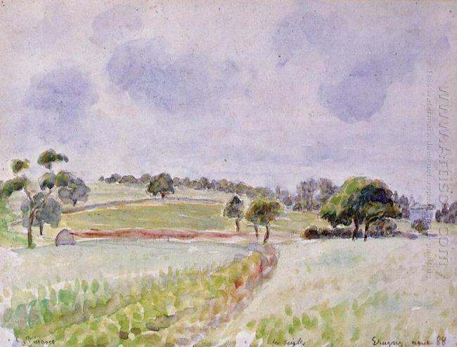 field of rye 1888