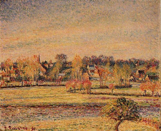 frost view fom bazincourt 1891