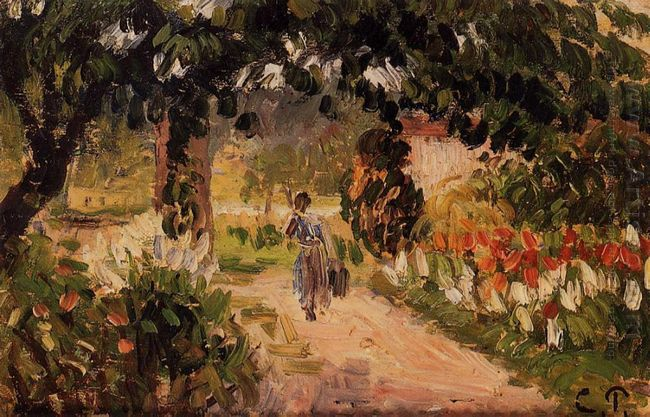 garden at eragny 1899