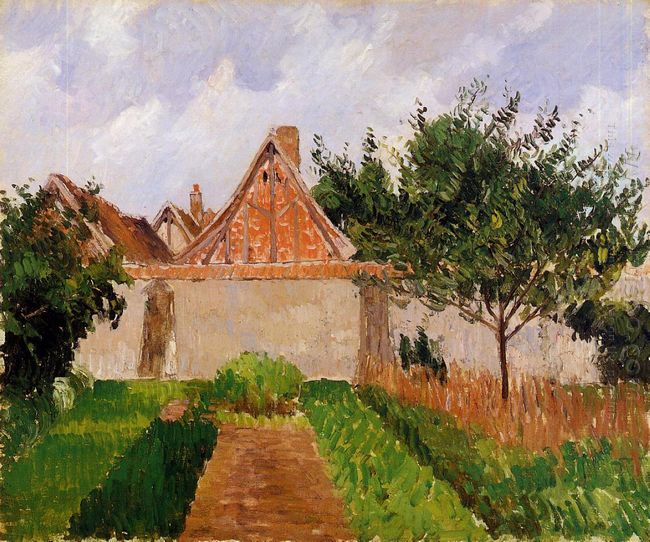 garden at eragny study