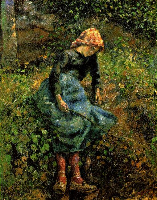 girl with a stick 1881