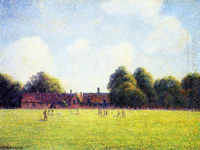 hampton court green london 1891