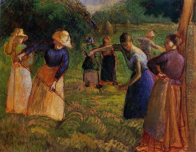 haymaking in eragny 1901