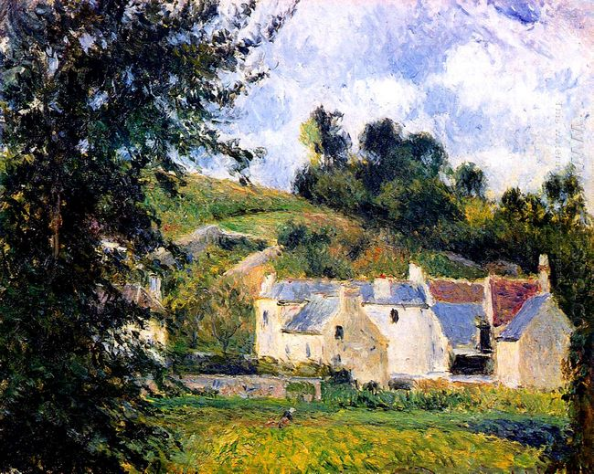 houses of l hermitage pontoise 1879