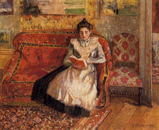 jeanne reading 1899