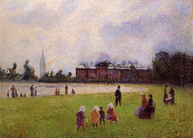 kensington gardens london 1890