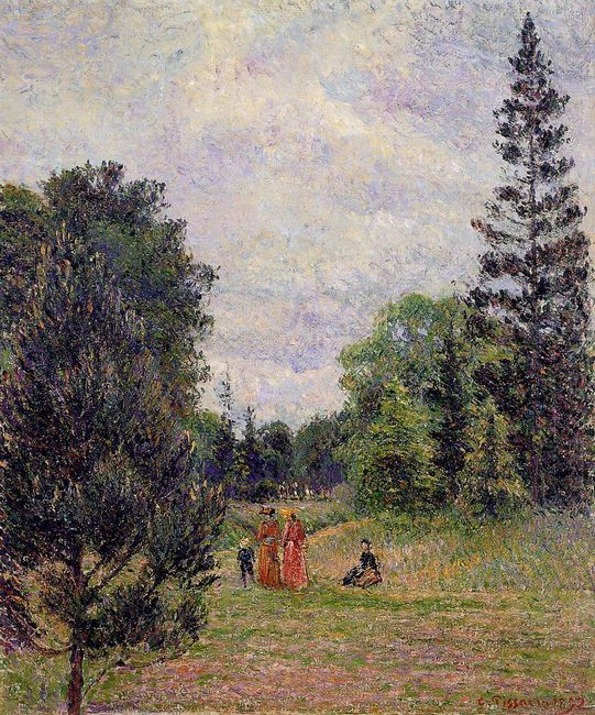 kew gardens crossroads near the pond 1892