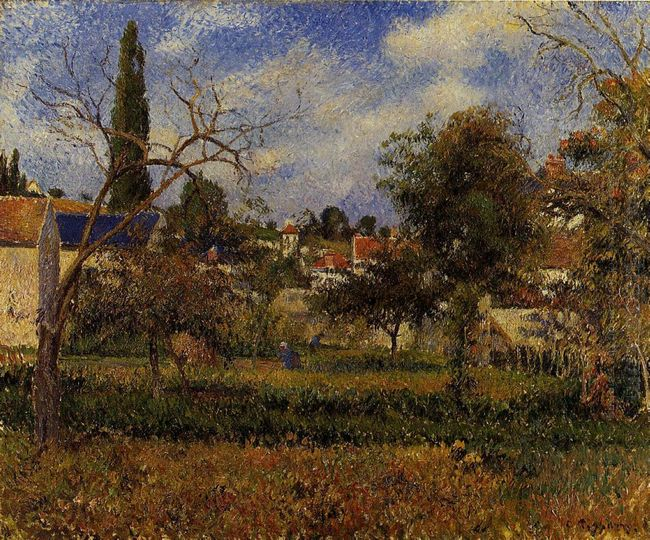 kitchen gardens pontoise 1881