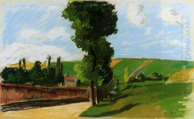 landscape at pontoise 2