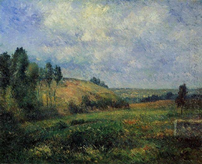 landscape near pontoise 1880
