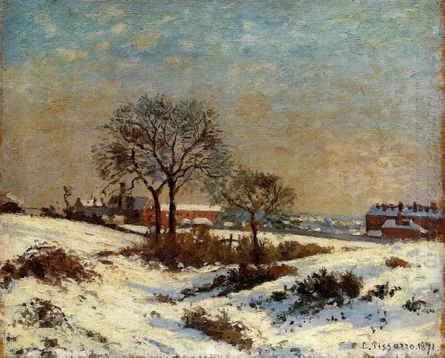 landscape under snow upper norwood 1871