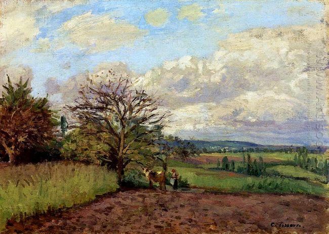 landscape with a cowherd