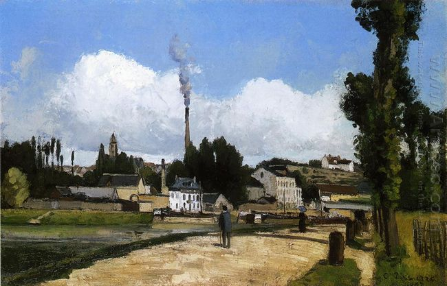 landscape with factory 1867