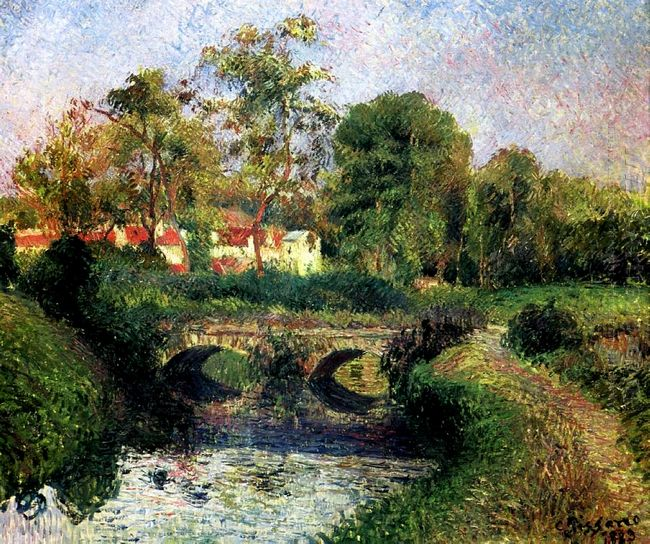 little bridge on the voisne osny 1883