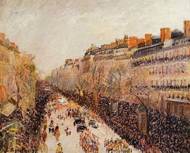 mardi gras on the boulevards 1897