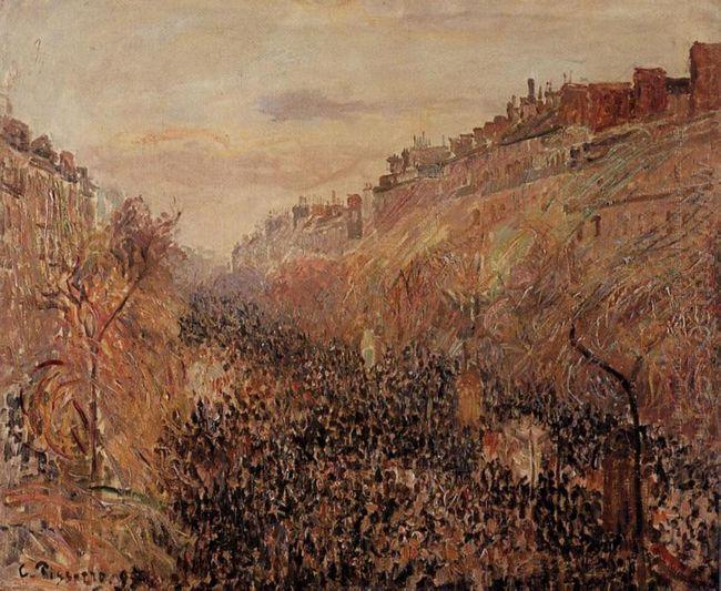 mardi gras sunset boulevard montmartre 1897