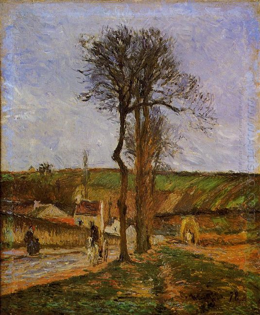 near pointoise 1878