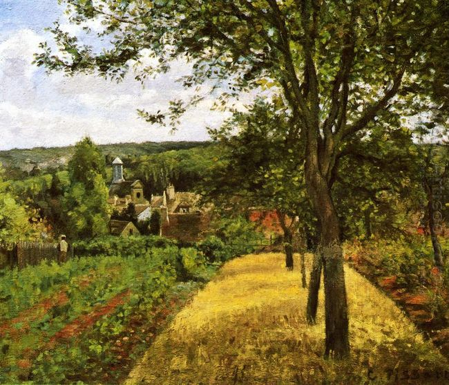 orchards at louveciennes 1872