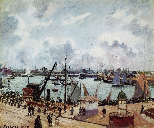 outer harbour of le havre 1903