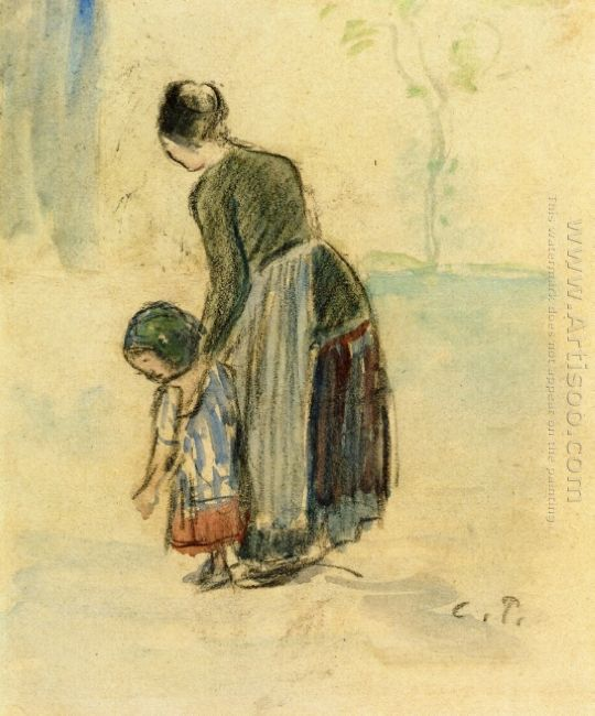 peasant and child