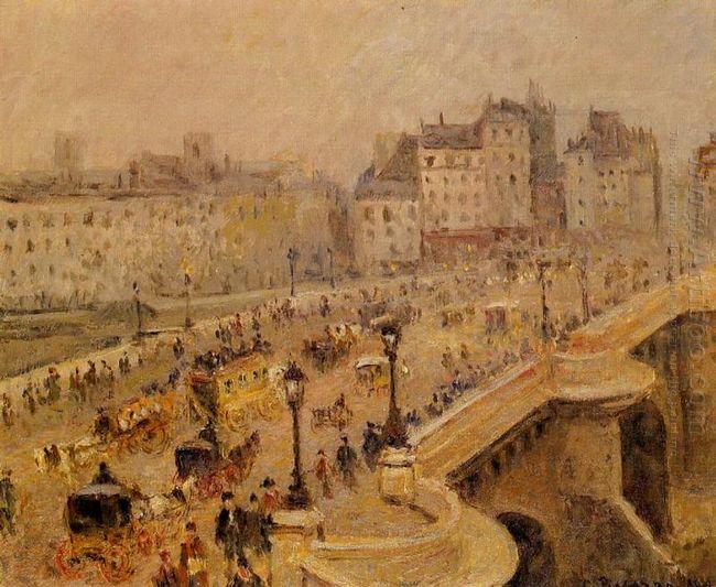 pont neuf fog 1902
