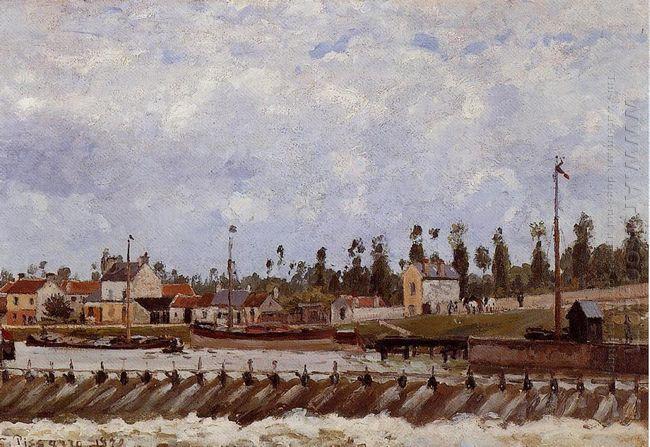 pontoise dam 1872