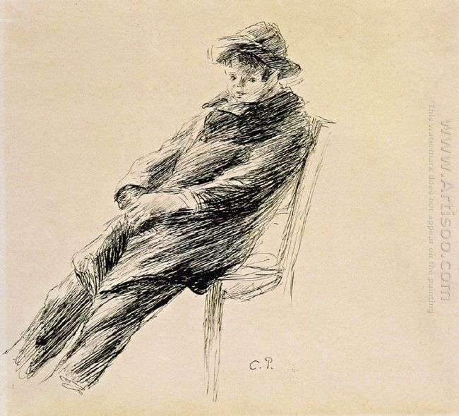 portrait of ludovic rodo pissarro
