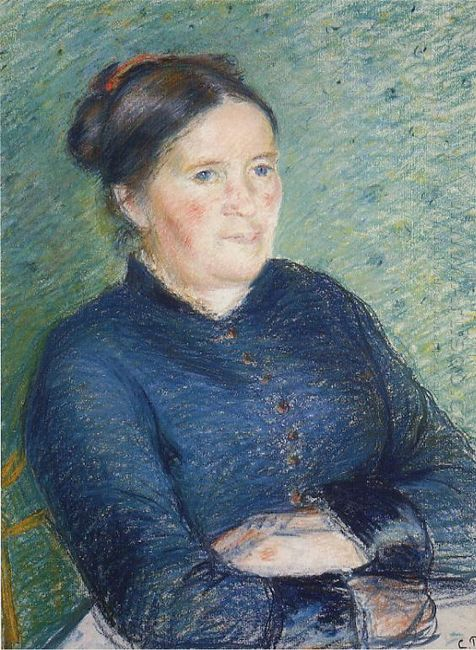 portrait of madame pissarro 1883