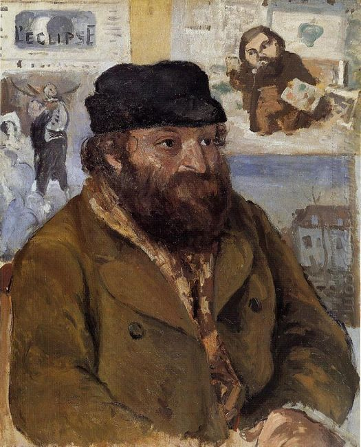 portrait of paul cezanne 1874