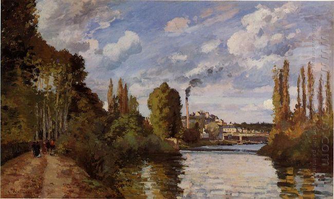 riverbanks in pontoise 1872
