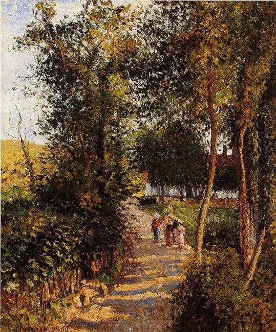 road to berneval le petit 1900