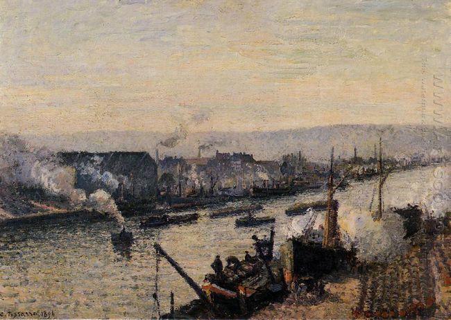 saint sever port rouen 1896