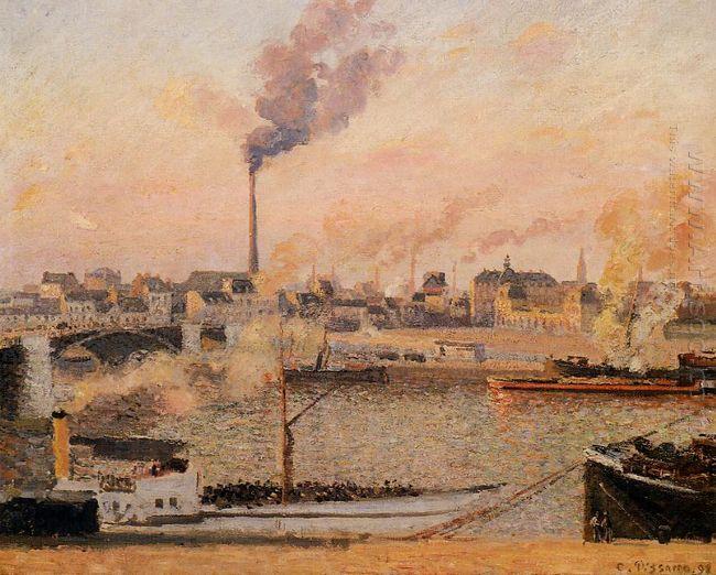 saint sever rouen morning five o clock 1898
