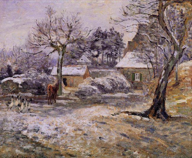 snow at montfoucault 1874
