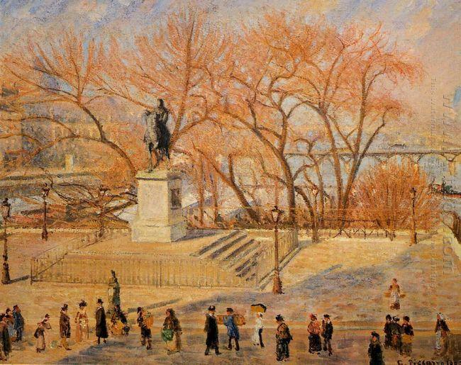 square du vert galant sunny morning 1902
