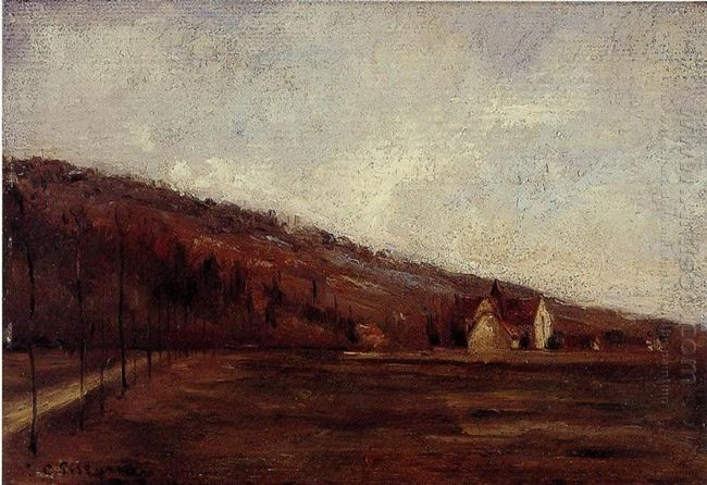 study for the banks of marne in winter 1866
