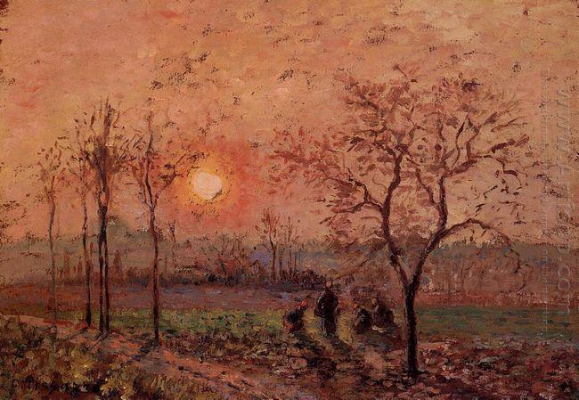 sunset 1872