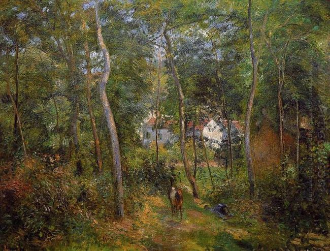 the backwoods of l hermitage pontoise 1879