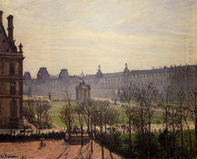 the carrousel autumn morning 1899