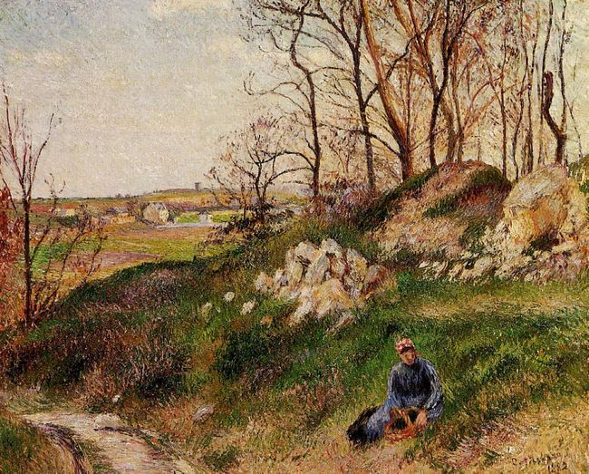 the chou quarries pontoise 1882