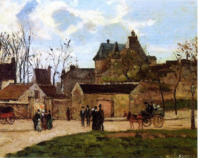 the court house pontoise 1873