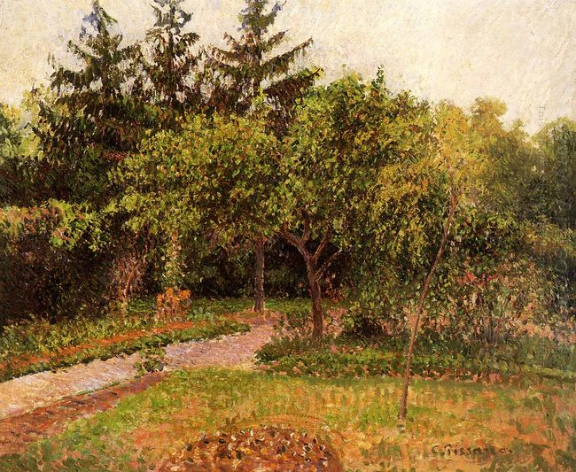the garden at eragny