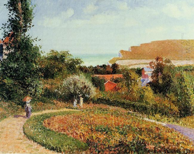 the garden of the hotel berneval 1900