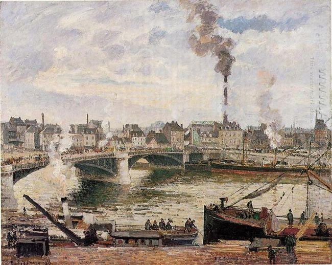 the great bridge rouen 1896