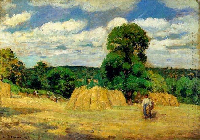 the harvest at montfoucault 1876