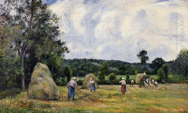 the harvest at montfoucault 2 1876