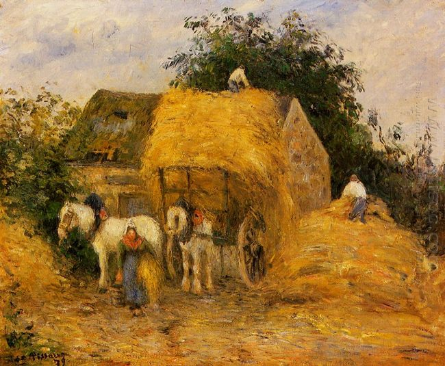 the hay wagon montfoucault 1879
